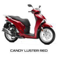 Honda SH150i Candy Luster Red