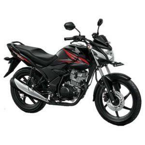 Honda Verza 150 CW Masculine Black