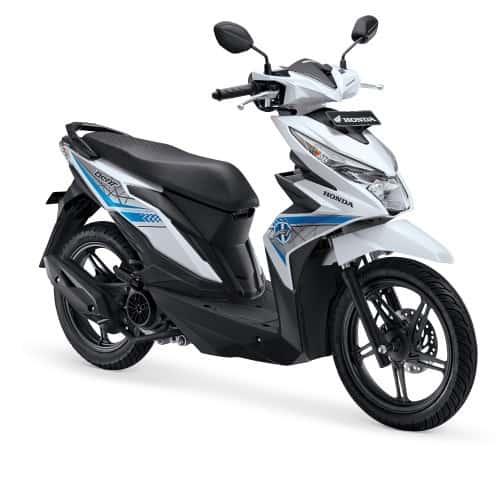Honda Beat Esp Cw Dance White Honda Cengkareng