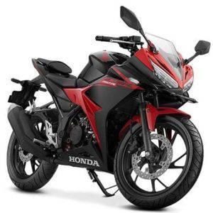 honda cbr 150r victory black red
