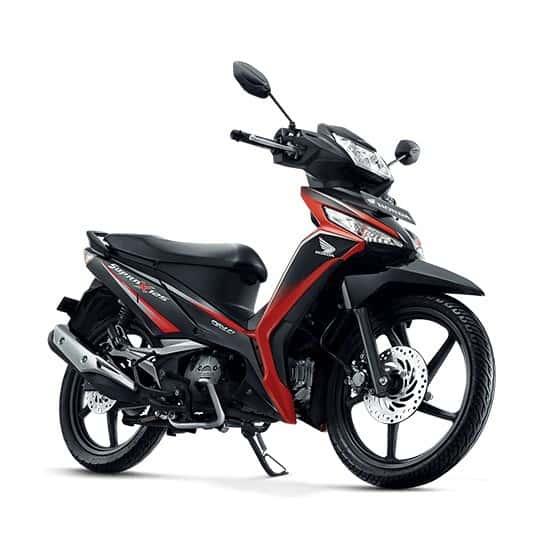 Supra X 125 FI STD Energetic Red