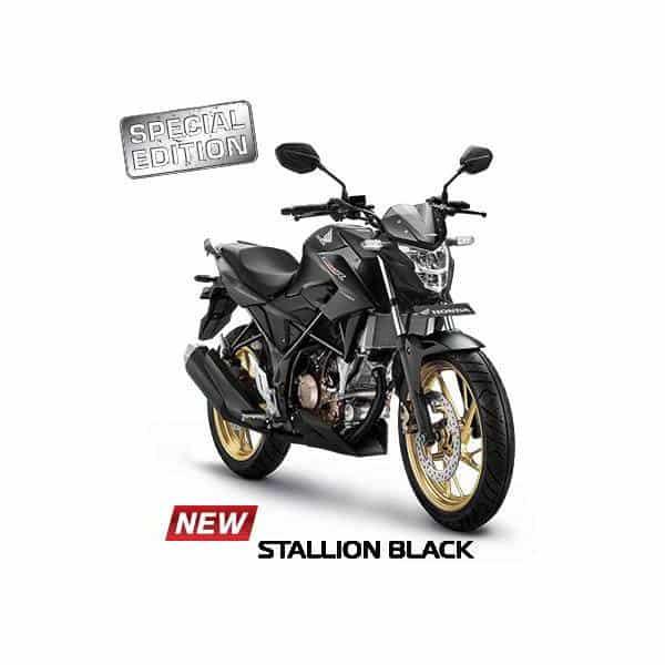 New Honda CB150R StreetFire Stallion Black