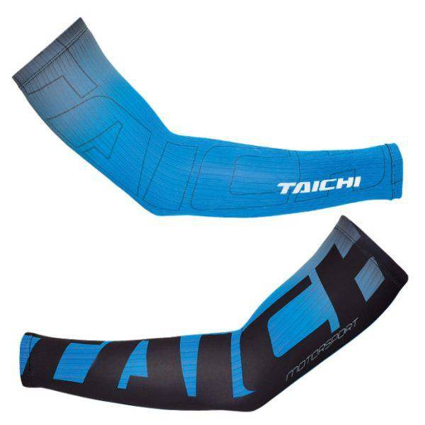 RS Taichi Cool Ride Arm Cover Blue Stripe RSU271