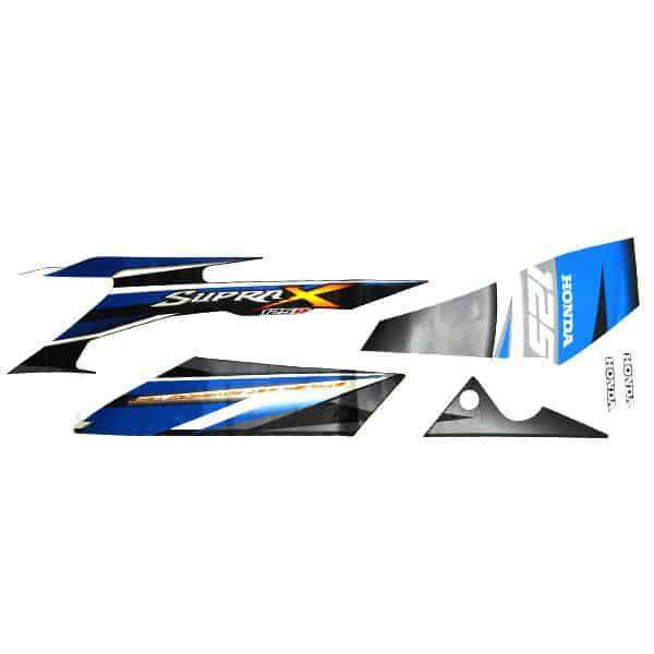 Stripe Black Blue L 871X0KYL670ZBL