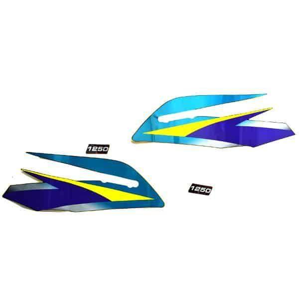 Stripe Black Blue L & R 871X0KEG890ZB
