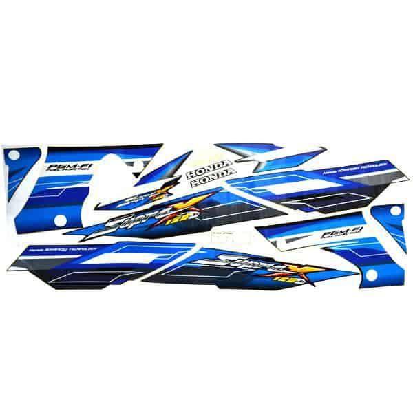 Stripe Black Blue L & R 871X0KTM780ZB