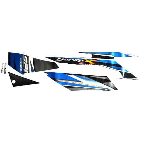 Stripe Black Blue R 871X0KYL670ZBR