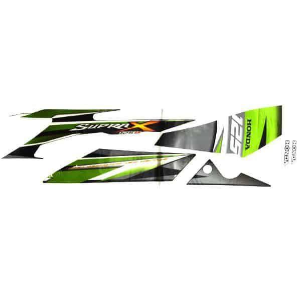 Stripe Black Green L 871X0KYL670ZCL