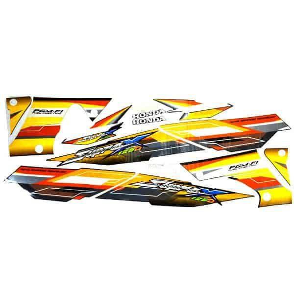 Stripe Black Orange L & R 871X0KTM780ZA