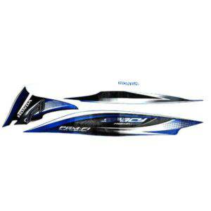 Stripe Blue Black L 871X0KZLC30ZCL