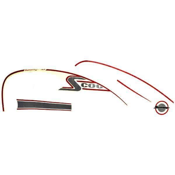 Stripe Cream Red L 871X0K16A10ZCL