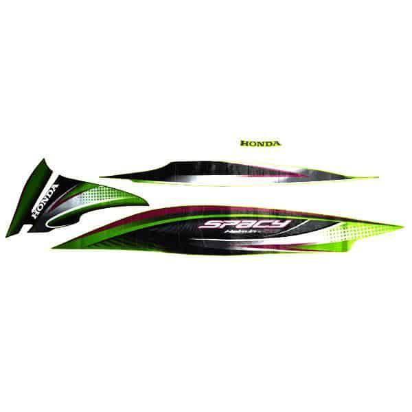 Stripe Green Black L 871X0KZLA00ZEL