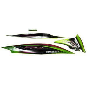 Stripe Green Black R 871X0KZLC30ZER