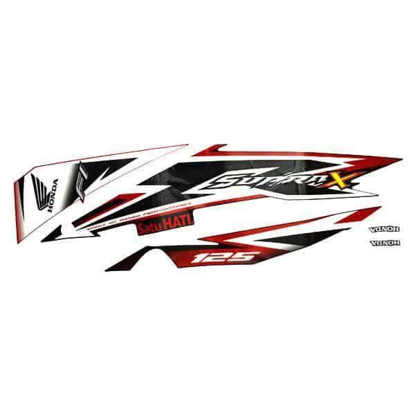 Stripe Red Black L 871X0K41N00ZBL
