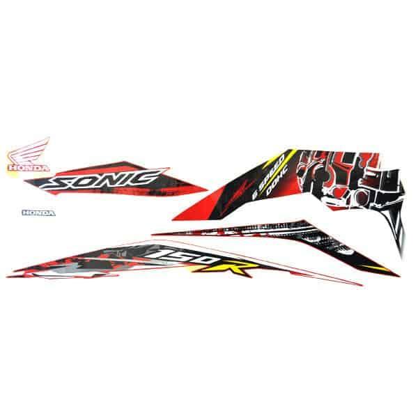 Stripe Set L Red Sonic 871X0K56N00ZCL
