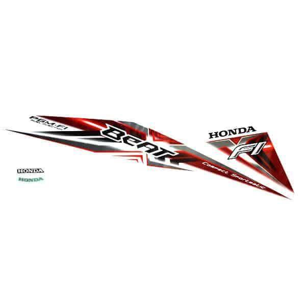 Stripe Set L White Red 871X0K25630ZBL