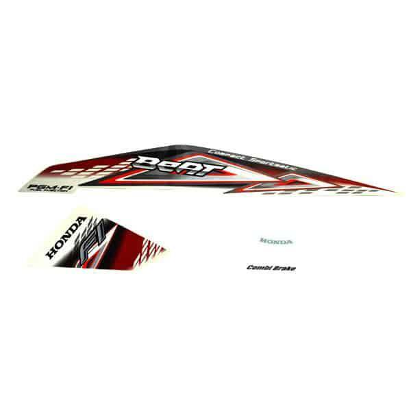 Stripe Set L White Red 871X0K25940ZCL