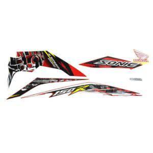 Stripe Set R Red Sonic 871X0K56N00ZCR