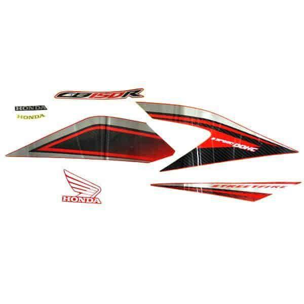 Stripe Set Red Silver R New CB150R StreetFire 871X0K15920ZBR