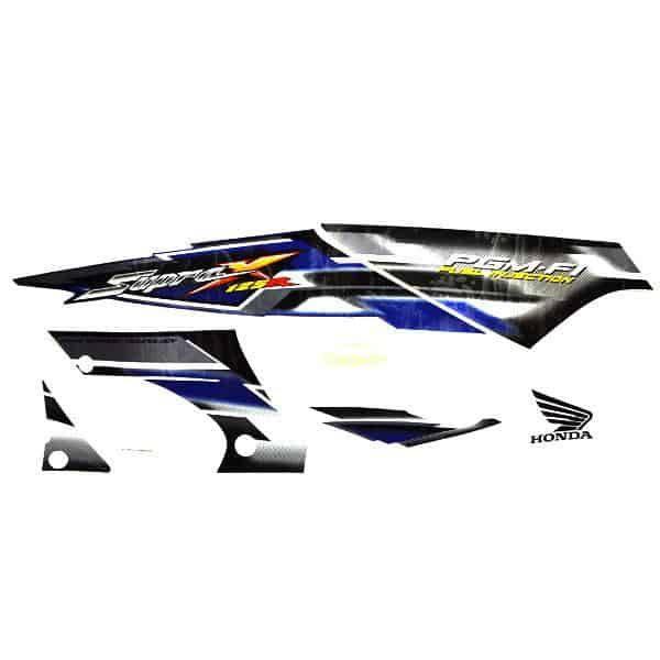 Stripe White Blue L & R 871X0KTM770ZA