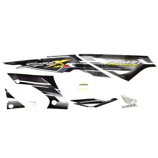 Stripe White Grey L & R 871X0KTM770ZB