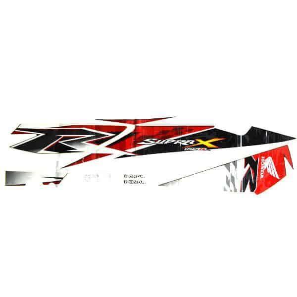 Stripe White Red L 871X0KYL660ZCL