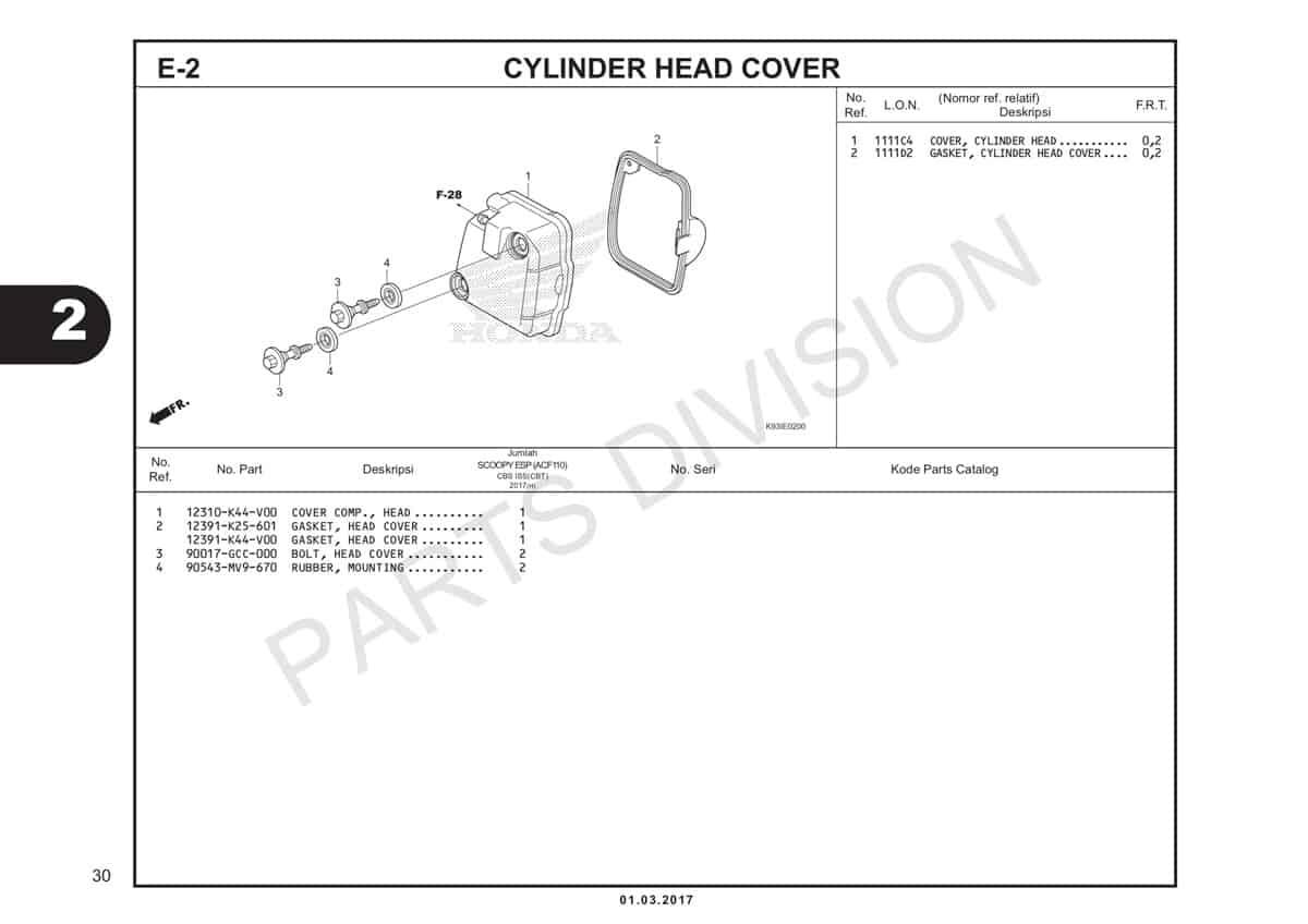 E2-Cylinder-Head-Cover-Katalog-Scoopy-eSP-K93