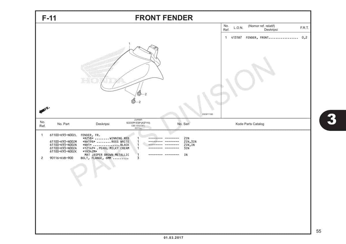 F11-Front-Fender-Katalog-Honda-Scoopy-eSP-K93