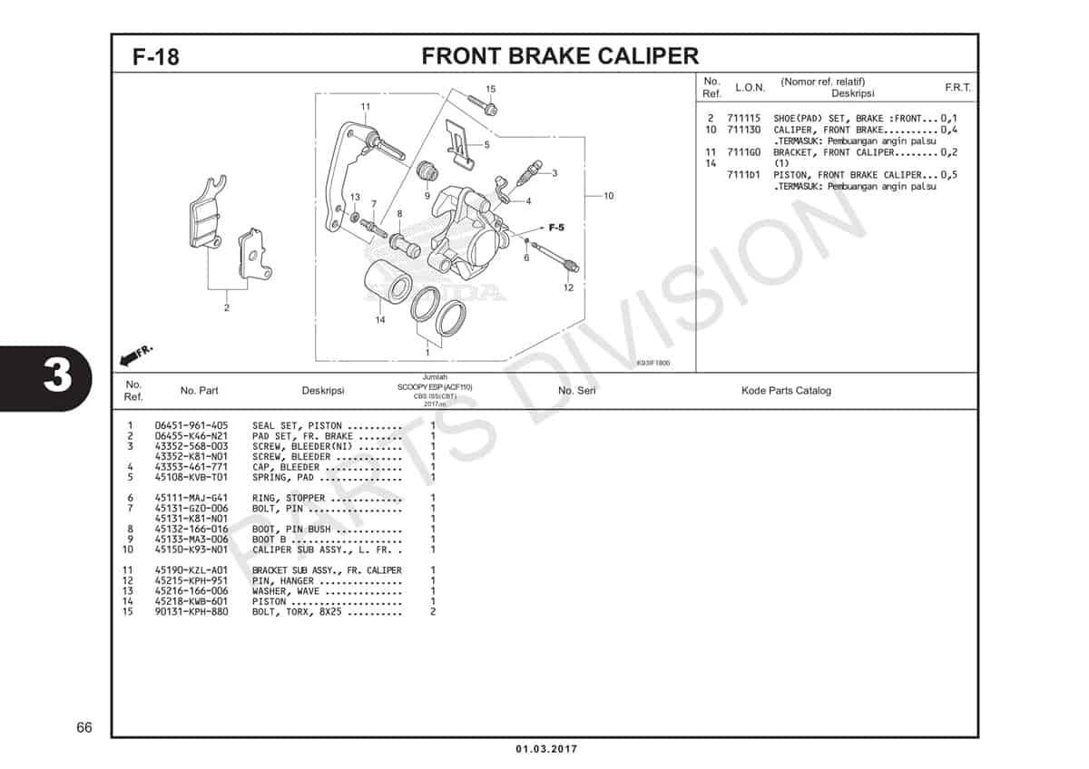 F18-Front-Brake-Caliper-Katalog-Honda-Scoopy-eSP-K93