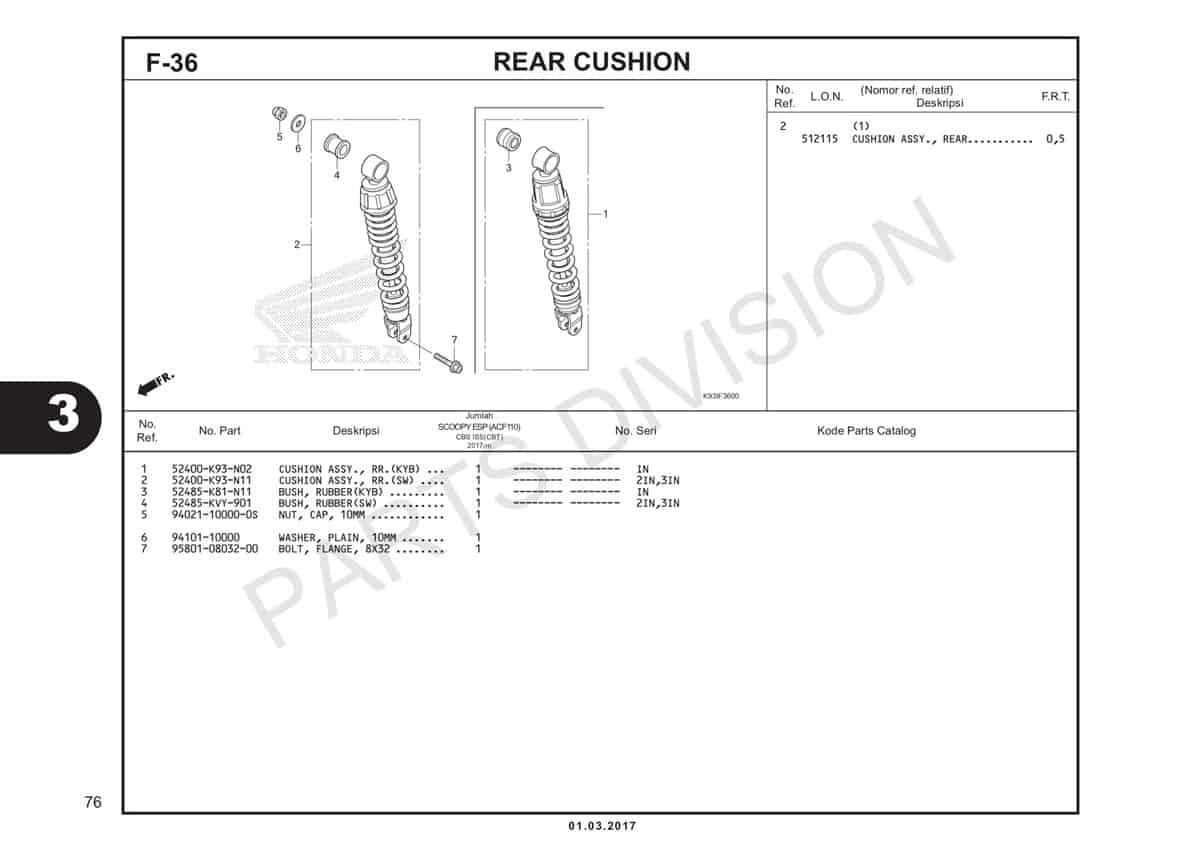 F36-Rear-Cushion-Katalog-Honda-Scoopy-eSP-K93