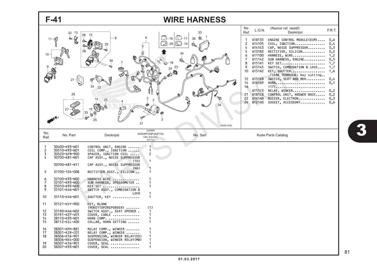 F41-Wire-Harness-Katalog-Honda-Scoopy-eSP-K93