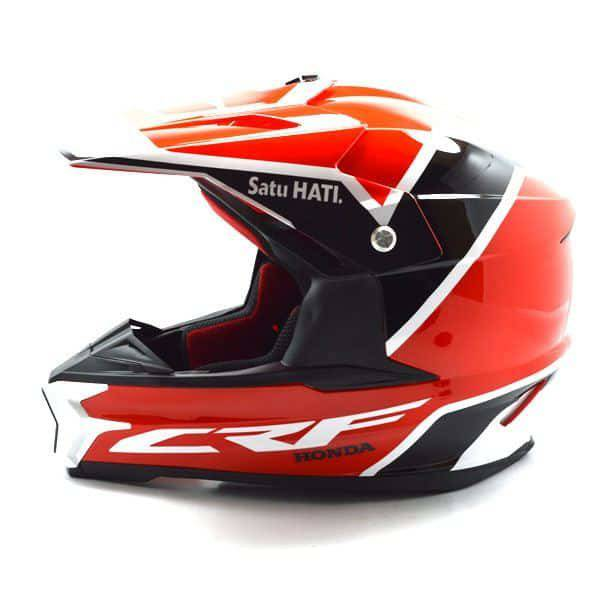 Helm Honda CRF (M)