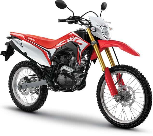 Honda CRF150L Extreme Red