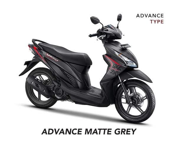 Honda Vario 110 Advance Matte Grey
