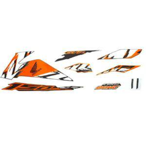 Stripe Set Black Orange L 871X0K56N80ZBL