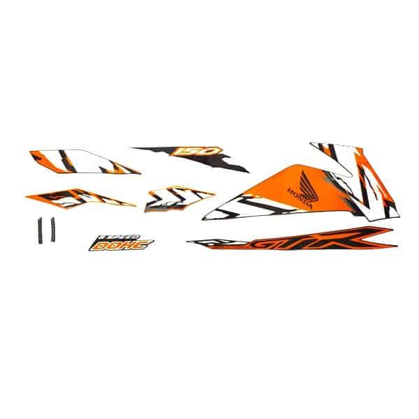 Stripe Set Black Orange R 871X0K56N80ZBR