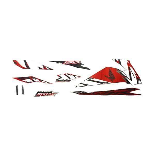 Stripe Set Black Red R 871X0K56N80ZAR