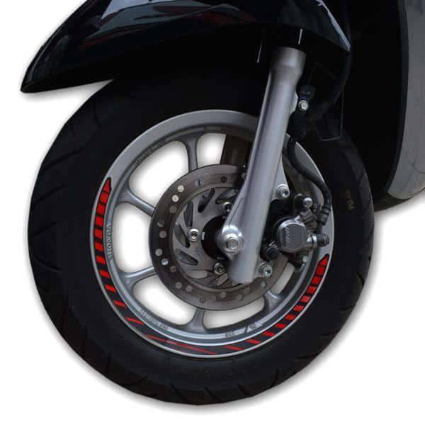Wheel Sticker Red 871X0K93A00RED