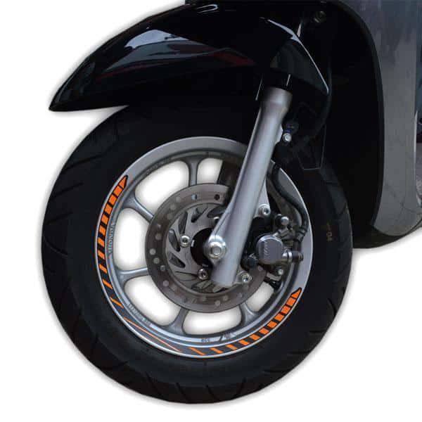 Wheel Sticker White 871X0K93A00WHI