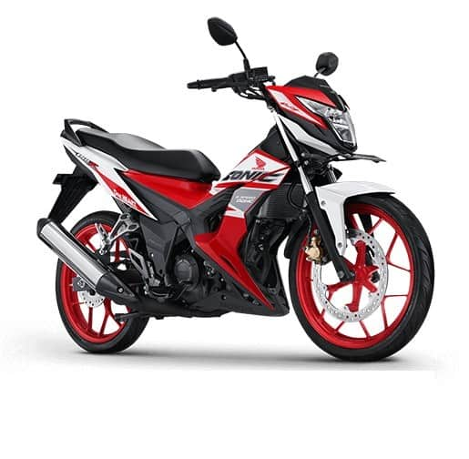 honda sonic 150r racing red