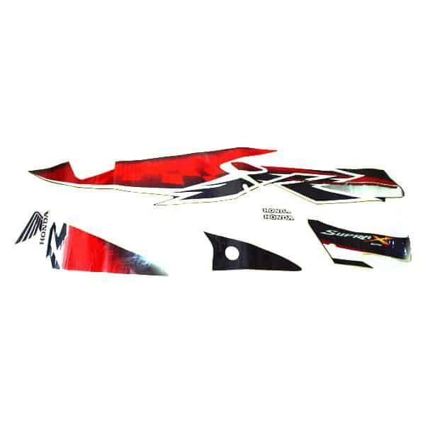 Stripe Speedster White R 871X0KVLN40ZBR
