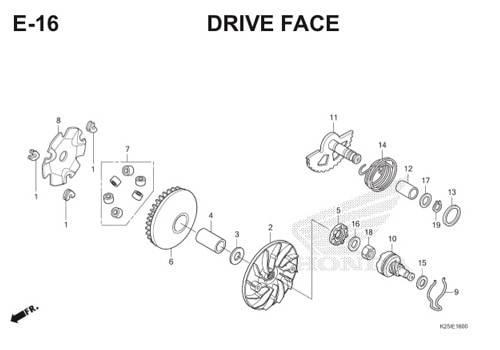 E16 Drive Face BeAT eSP K25