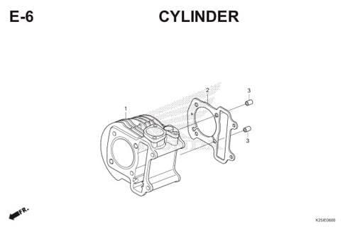 E6 Cylinder BeAT eSP K25