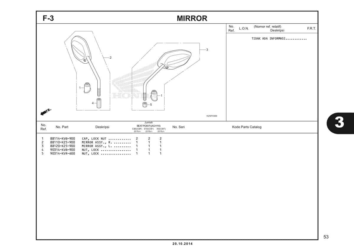 F3 Mirror Katalog BeAT eSP K25