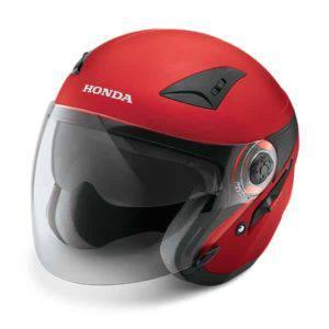 Honda Luxury Helmet Red