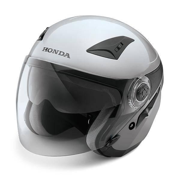 Honda Luxury Helmet Silver