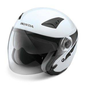 Honda Luxury Helmet White
