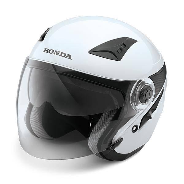 Honda Luxury Helmet White