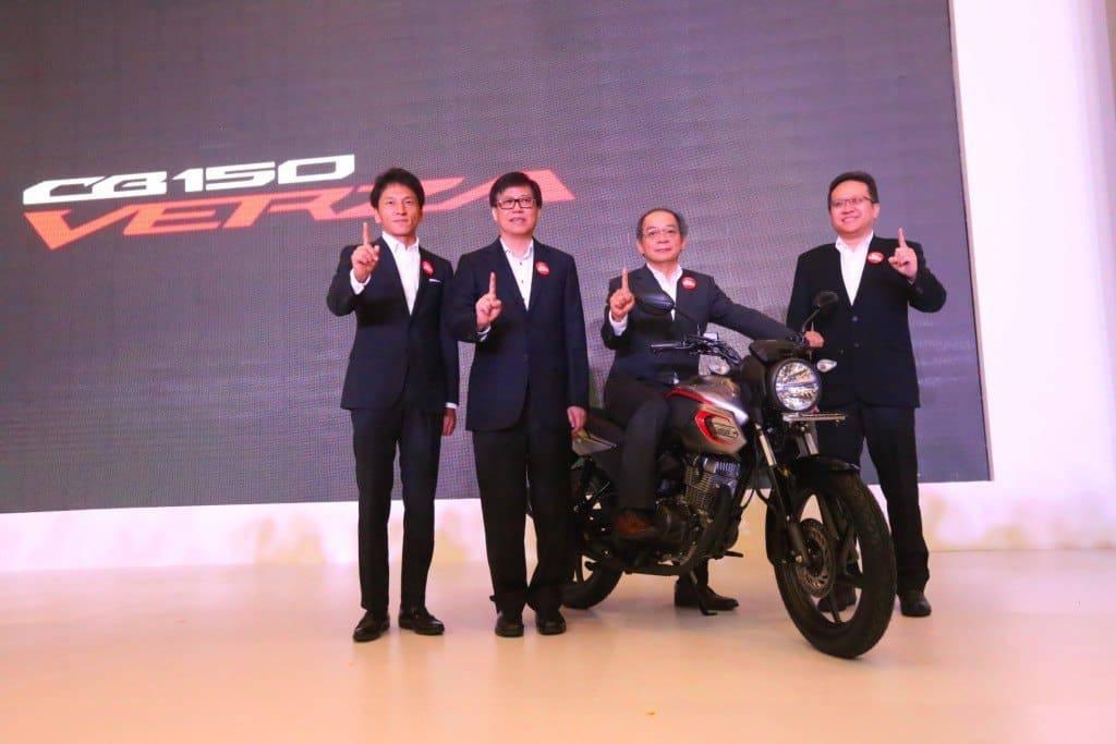 Peluncuran Honda CB150 Verza