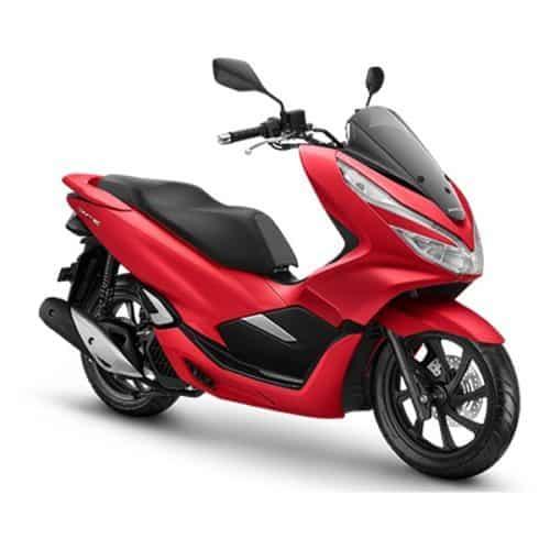 Honda PCX 150 Majestic Matte Red